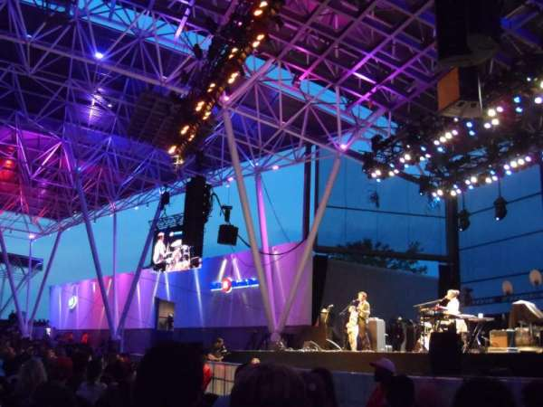 BMO Harris Pavilion, section: 1, row: M, seat: 15