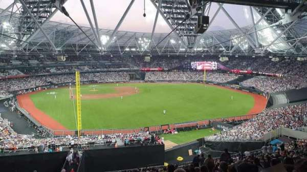 London Stadium, section: 227, row: 62, seat: 728