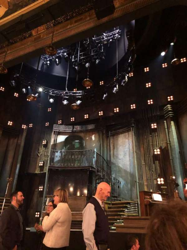 Walter Kerr Theatre, section: Orchestra R, row: G, seat: 2