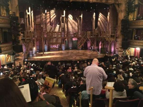 Richard Rodgers Theatre, section: Orch, row: Q, seat: 1