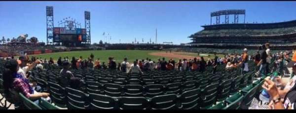 AT&T Park, section: 127, row: 11, seat: 6