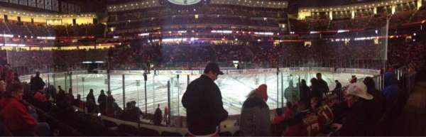 Prudential Center, section: 19, row: 7, seat: 8