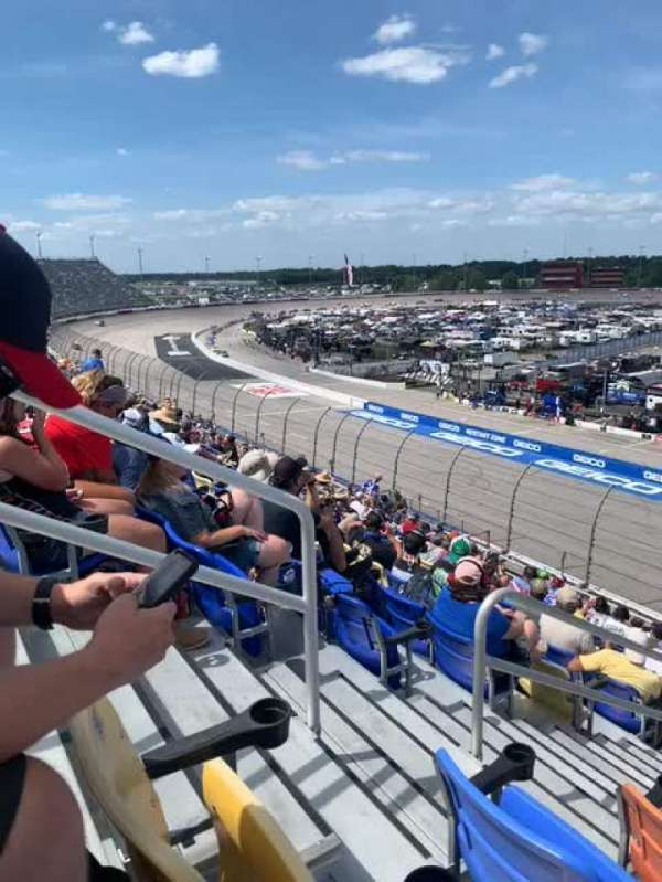 Darlington Raceway, section: Tyler Tower, row: S16, seat: 22