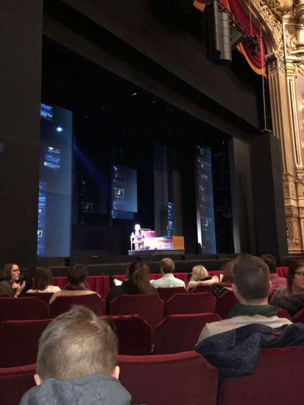James M. Nederlander Theatre, section: Orchestra L, row: G, seat: 19