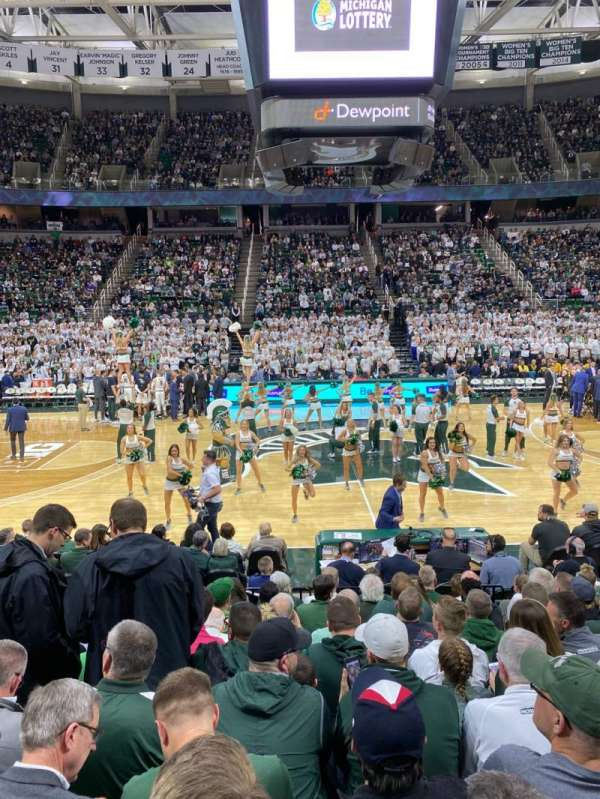 Breslin Center, section: 128, row: 13, seat: 104