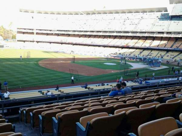 Dodger Stadium, section: 151LG, row: H, seat: 1