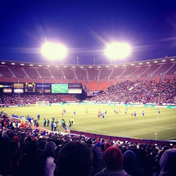 Candlestick Park, section: 6, row: Y, seat: 10