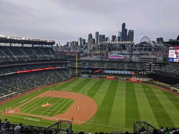 T-Mobile Park, section: 320, row: 20, seat: 10