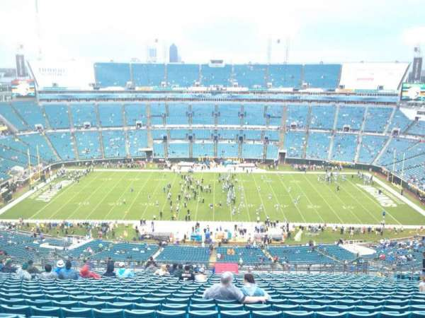 TIAA Bank Field, section: 436, row: BB, seat: 17
