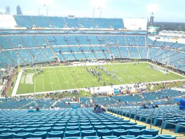 TIAA Bank Field, section: 440, row: CC, seat: 6