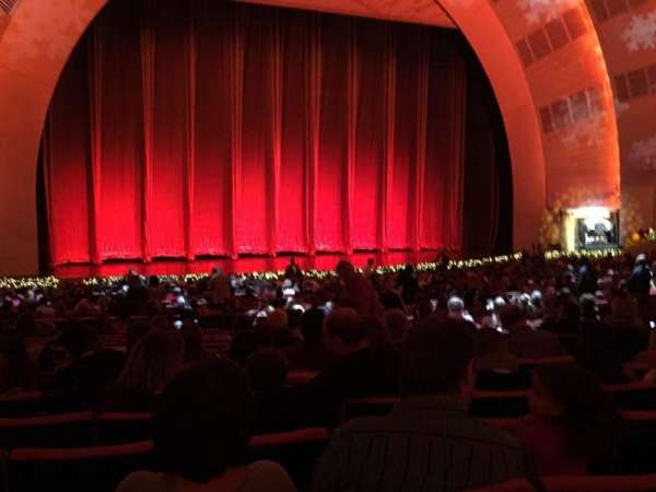 Radio City Music Hall, section: Orchestra 6, row: N, seat: 606