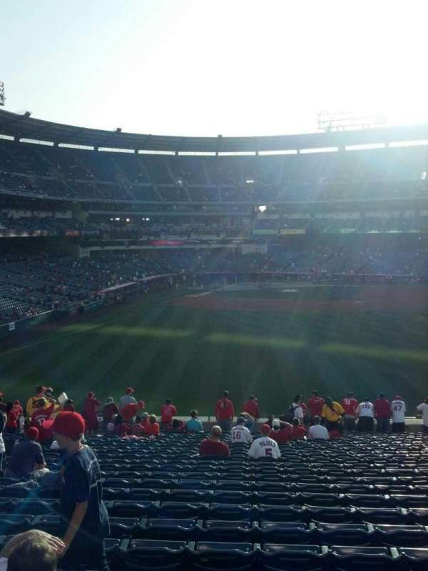 Angel Stadium, section: P237, row: ww, seat: 5