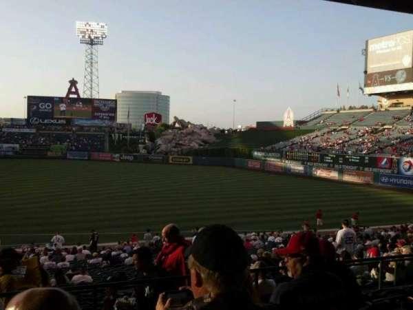 Angel Stadium, section: T226, row: K, seat: 3