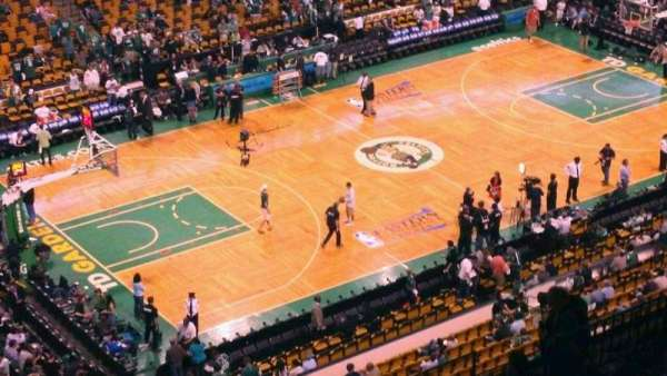 TD Garden, section: Bal 320