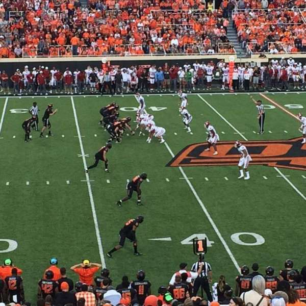 Boone Pickens Stadium, section: 207, row: 25, seat: 6