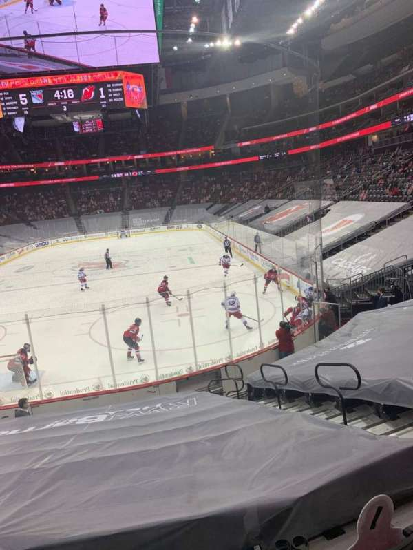 Prudential Center, section: 14, row: 13, seat: 7