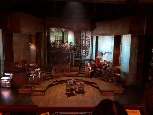 Walter Kerr Theatre, section: Mezzanine C, row: 2, seat: 108