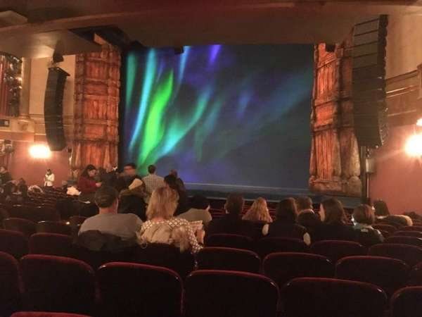 St. James Theatre, section: orchestra r, row: O, seat: 22