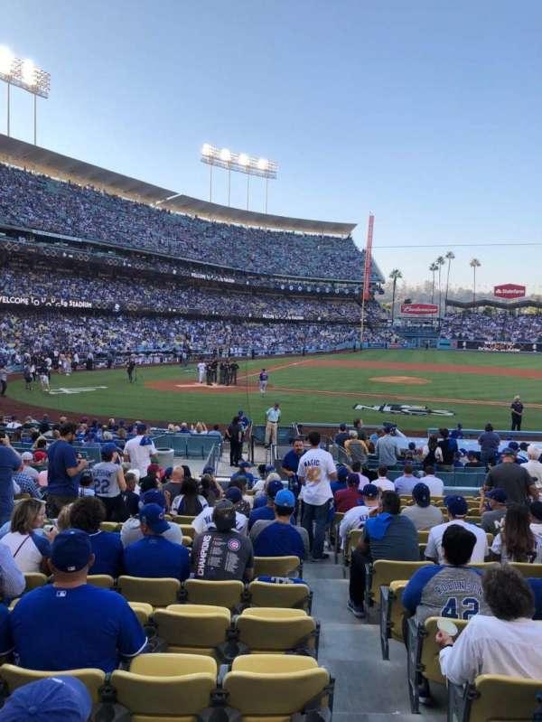 Dodger Stadium, section: 14FD, row: G, seat: 6