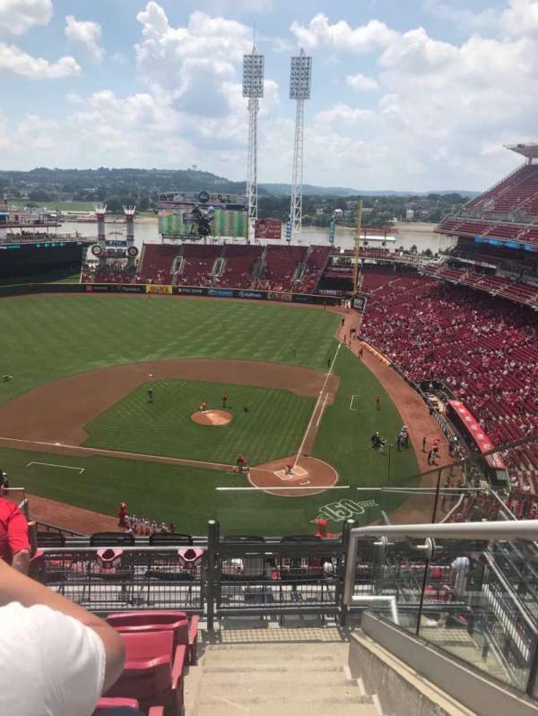 Great American Ball Park, section: 520, row: E, seat: 5