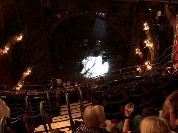 Palace Theatre (West End), section: Balcony, row: L, seat: 5