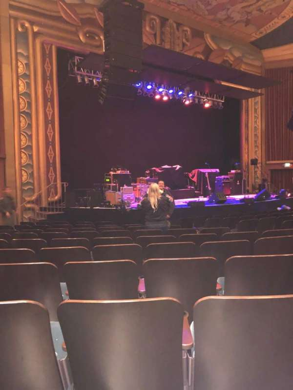 Uptown Theatre, Napa, section: Lower, row: L, seat: 19