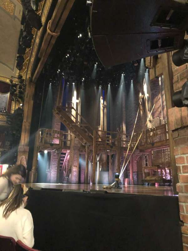 Richard Rodgers Theatre, section: Orchestra R, row: B, seat: 16