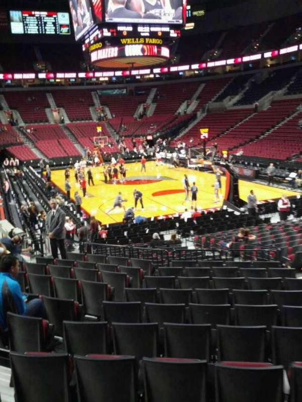 Moda Center, section: 108, row: l, seat: 11