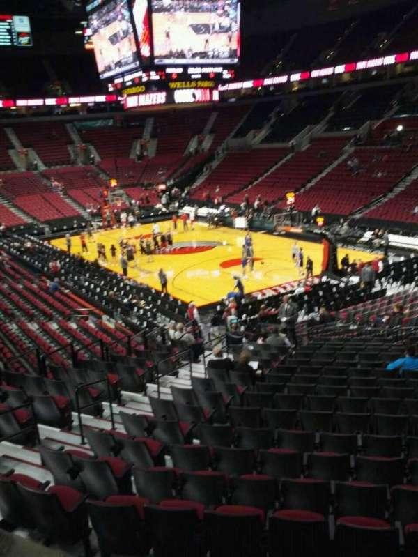 Moda Center, section: 211, row: e, seat: 7