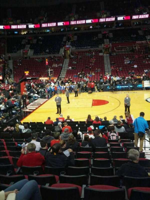 Moda Center, section: 113, row: l, seat: 3