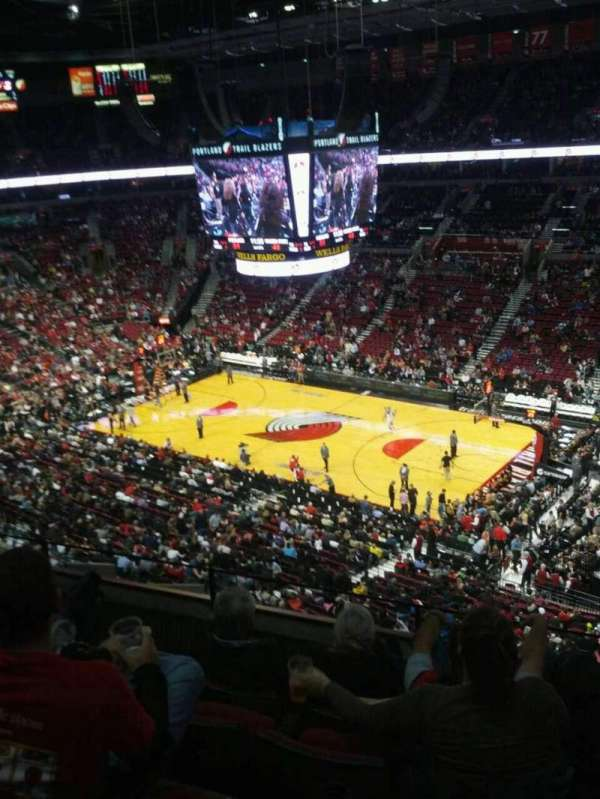 Moda Center, section: 315, row: e, seat: 3