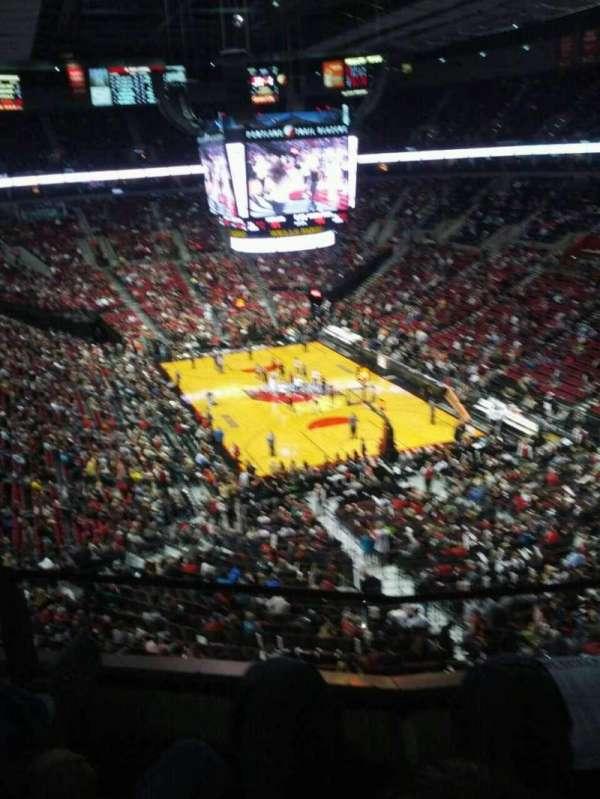 Moda Center, section: 311, row: b, seat: 11