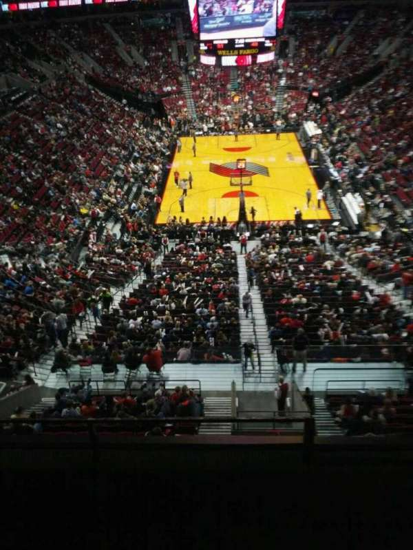 Moda Center, section: 310, row: d, seat: 3