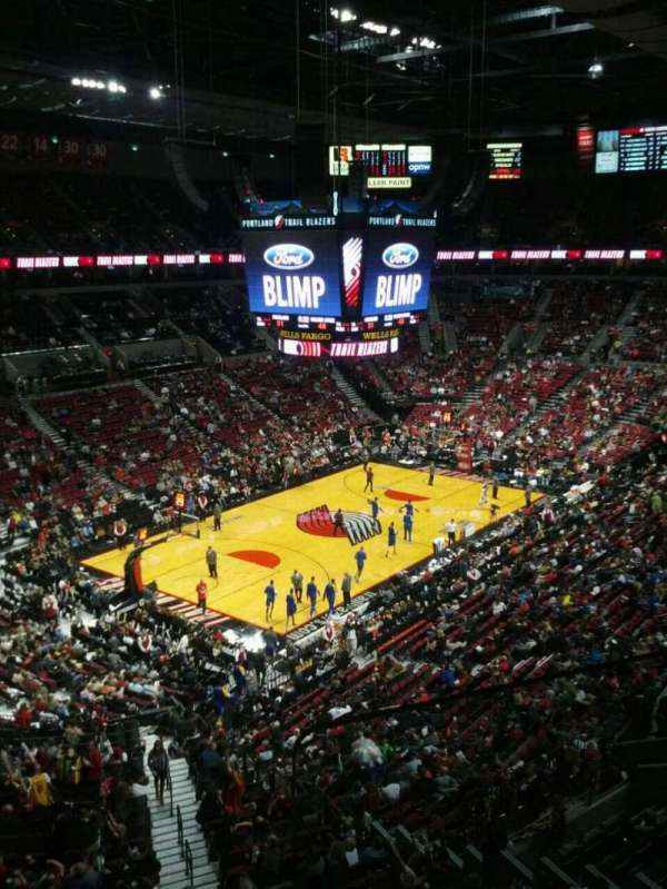 Moda Center, section: 306, row: b, seat: 2