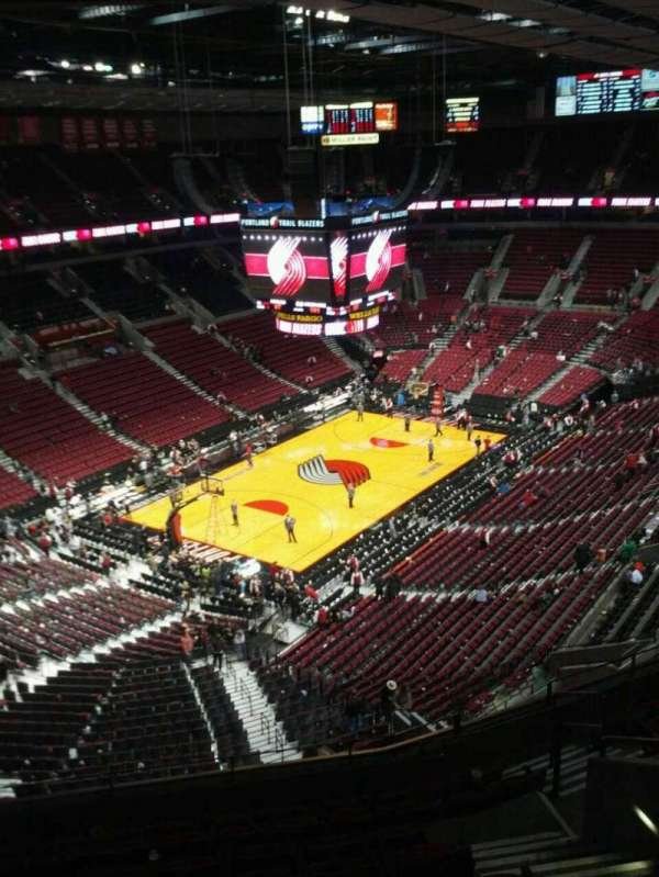 Moda Center, section: 323, row: k, seat: 7