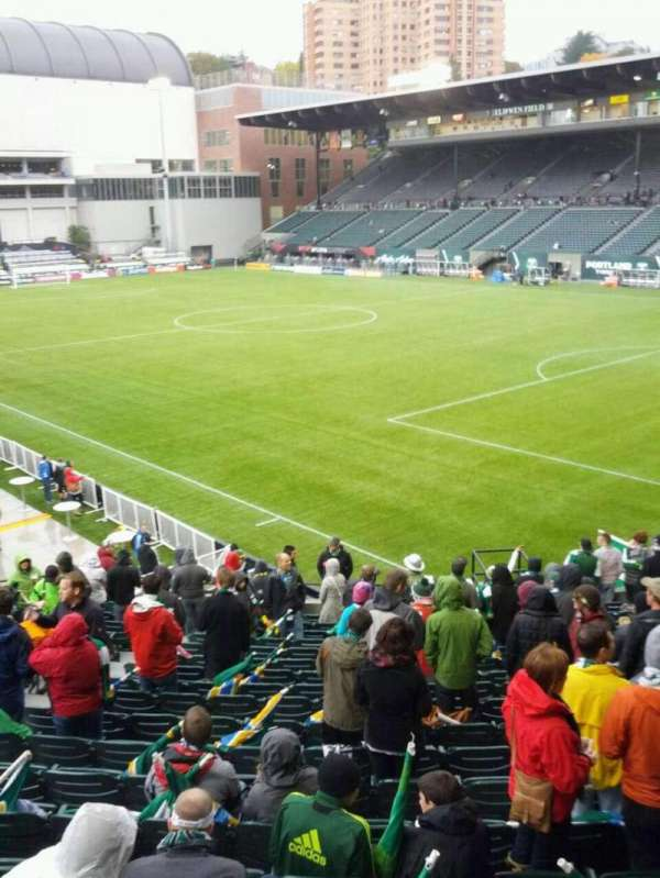 Providence Park, section: 102, row: r, seat: 6