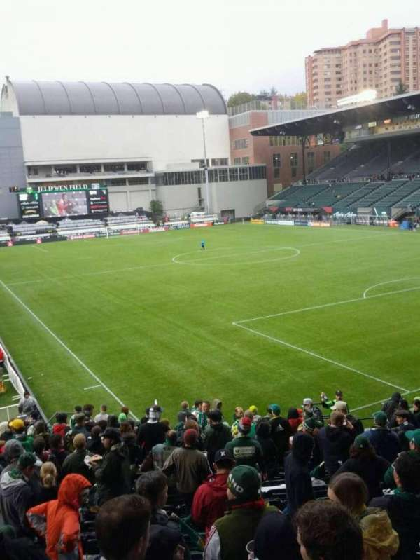 Providence Park, section: 103, row: r, seat: 8