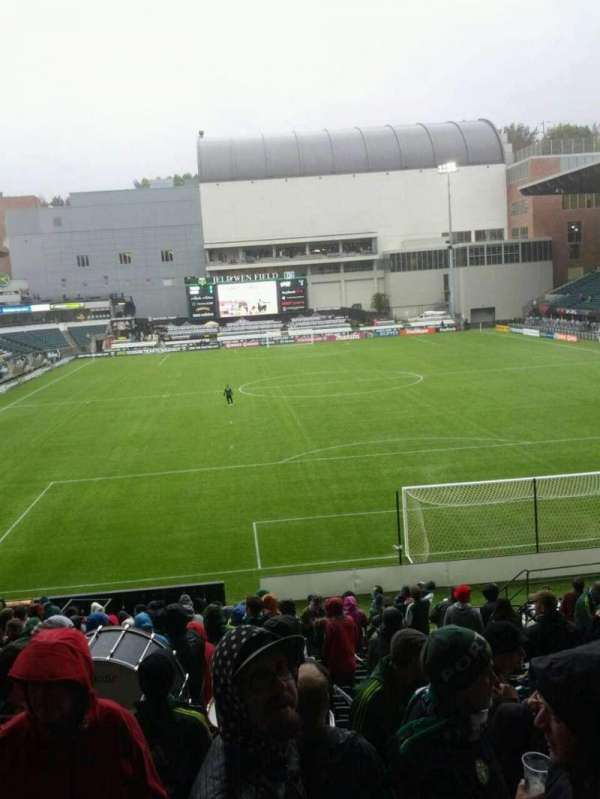 Providence Park, section: 106, row: r, seat: 15