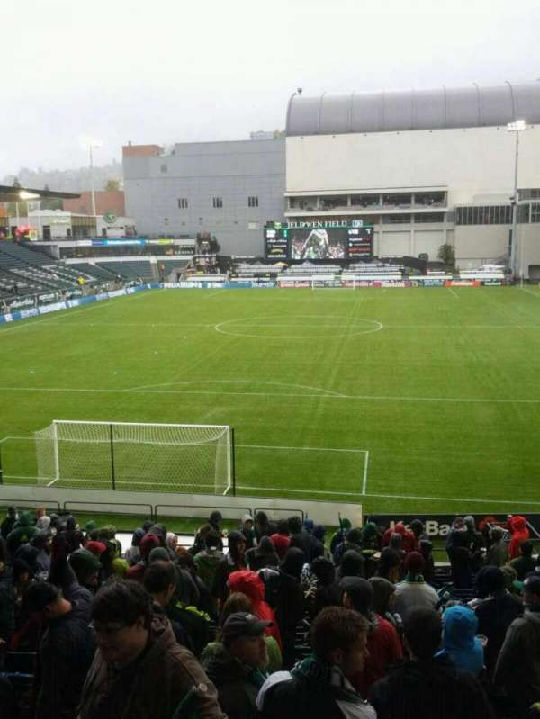 Providence Park, section: 108, row: r, seat: 9