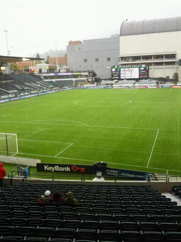 Providence Park, section: 109, row: r, seat: 13
