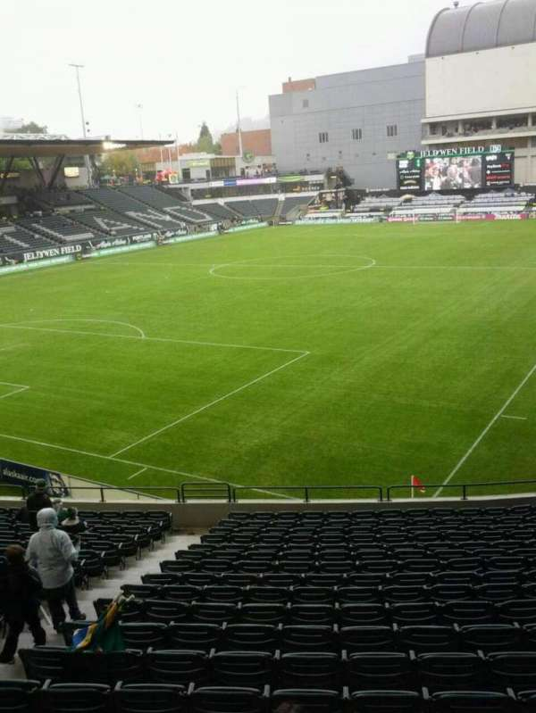 Providence Park, section: 111, row: r, seat: 7