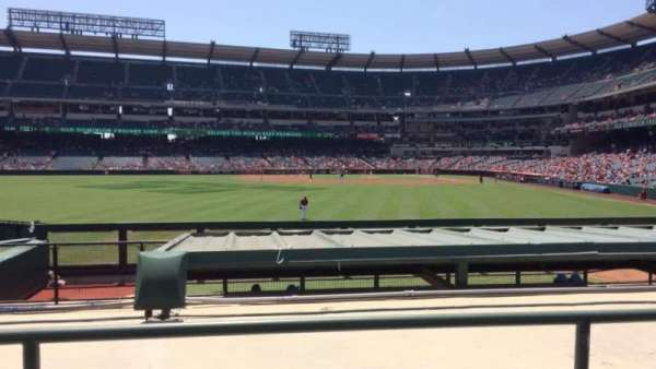 Angel Stadium, section: P258, row: H, seat: 9