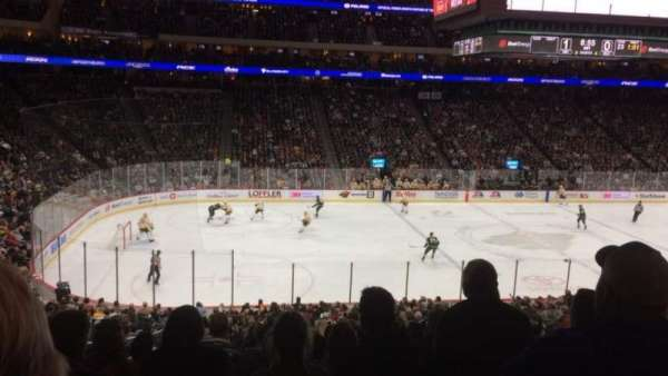 Xcel Energy Center, section: 105, row: SRO, seat: 14