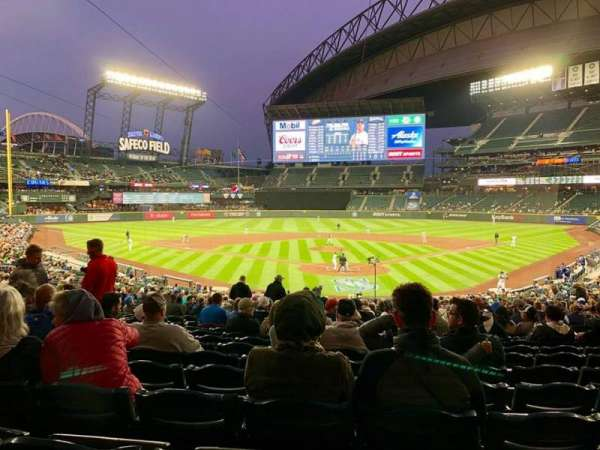 T-Mobile Park, section: 131, row: 35, seat: 11