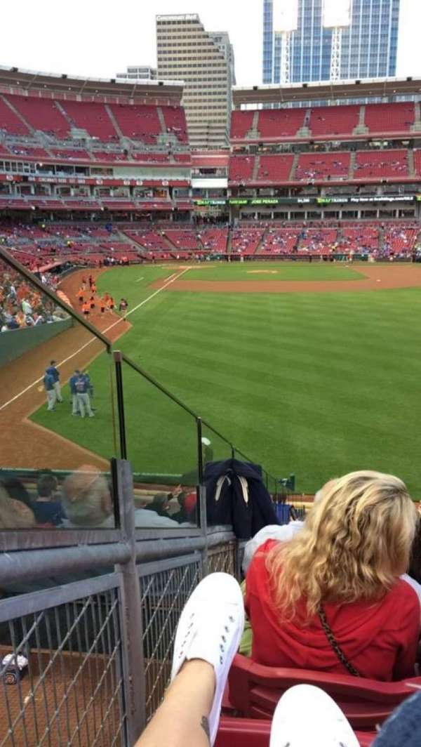 Great American Ball Park, section: 140, row: N, seat: 11