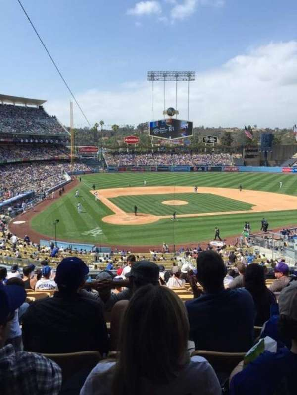Dodger Stadium, section: 114LG, row: N, seat: 2