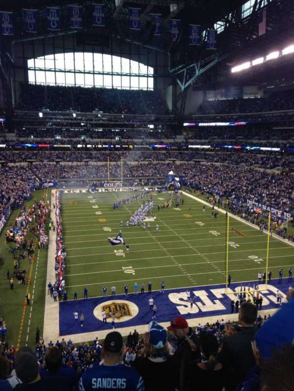 Lucas Oil Stadium, section: 402, row: 6