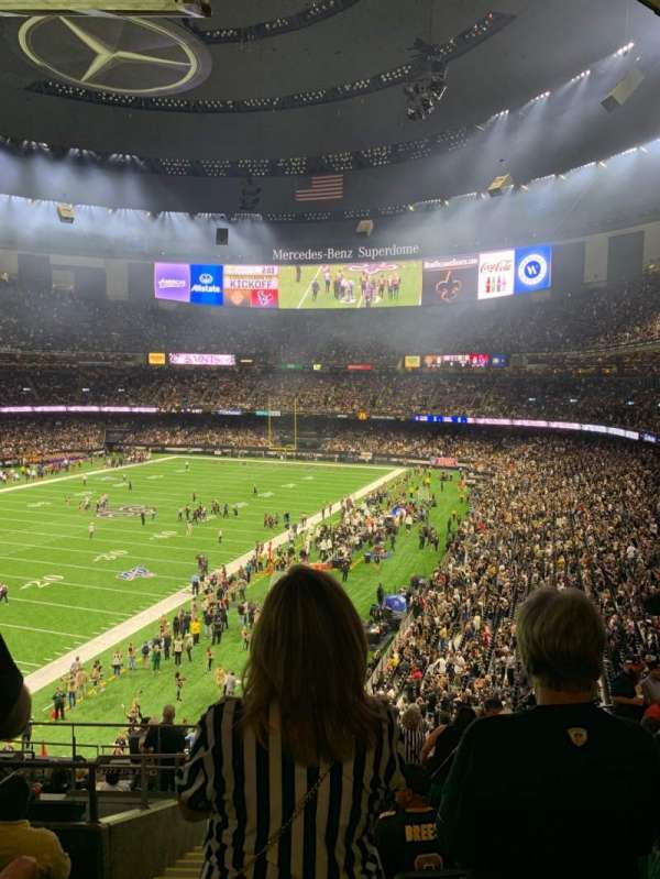 Mercedes-Benz Superdome, section: 343, row: 15, seat: 16
