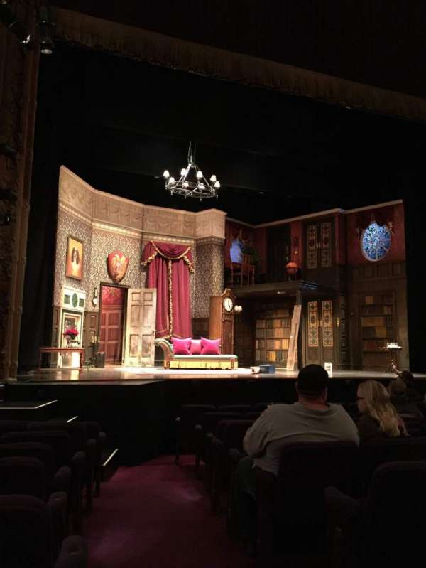 Lyceum Theatre (Broadway), section: Orchestra Left, row: J, seat: 1