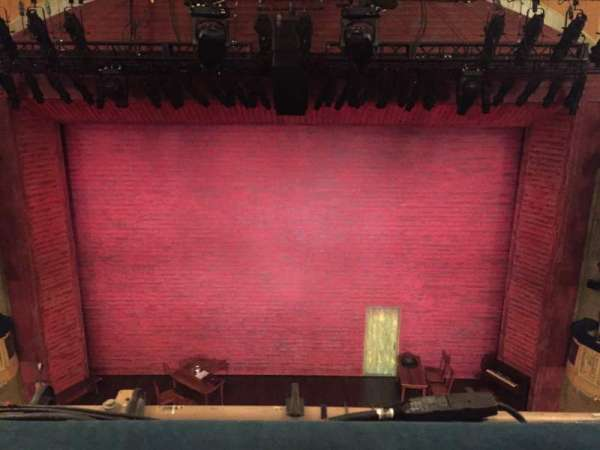 Shubert Theatre, section: Balcony C, row: A, seat: 107